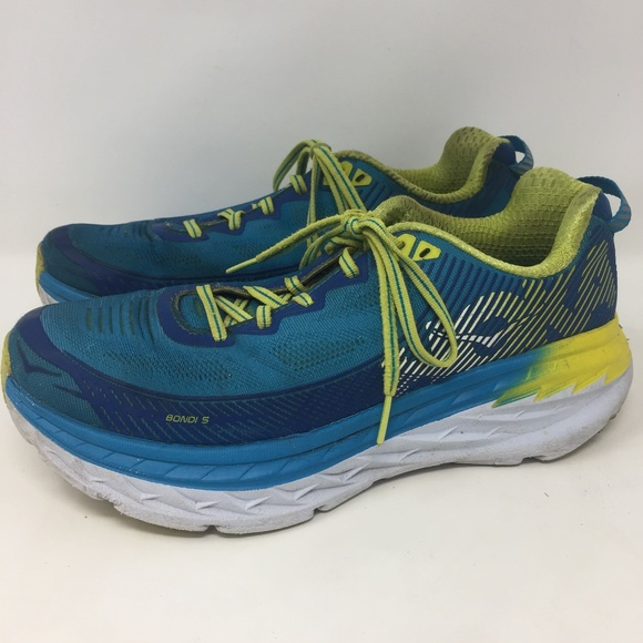 Hoka One One 9 5 Bondi 5 1014759 BJAC Blue White